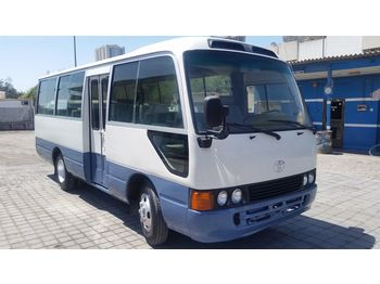 TOYOTA Coaster ...Japan made - not china .....BELGIUM ... - forstæder bus