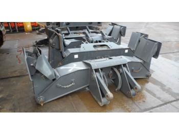 Doosan Outriggers / Stabilizers DX140/160/170/190  - hjulgravemaskine