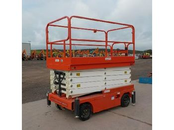 LOT # 0596 -- 2018 Craft C9000 Wheeled Scissor Lift Access Platform - sakselift