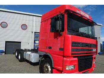 DAF 95XF-430 / SPACECAB / MANUAL / RETARDER / EURO-2 /  - containerbil/ veksellad lastbil