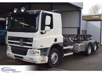 DAF CF 75 - 250, 52000 km, Wechselsystem, 6x2, Pto - containerbil/ veksellad lastbil