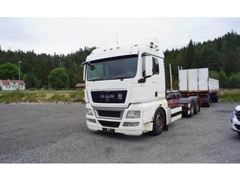 MAN TGA 26 430 containerbil EU godkjent til juni 2020 containerbil