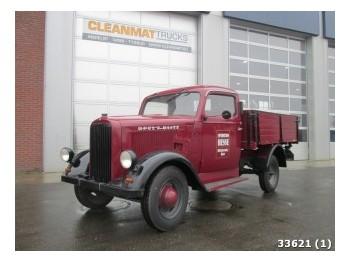 Hyggelig Opel Blitz fladvogn lastbil, 1937, 35000 EUR til salg - Truck1 VI-85