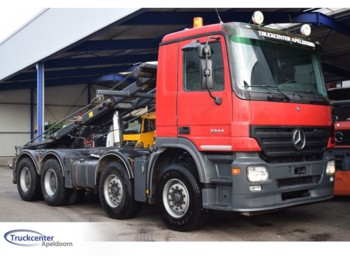 Mercedes-Benz Actros 3244, 8x4, Steel springs, Manuel - lastbil chassis