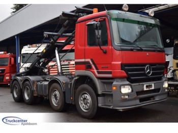 Mercedes-Benz Actros 3244, Steel springs, Manuel, 8x4 - lastbil chassis