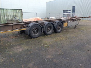 Pacton 3 Axles BPW 2 X 20ft or 40ft - containerbil/ veksellad sættevogn