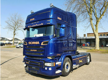 Scania R580 *Full AIR SUSPENSION *Vollspoiler*Alufelgen  - trækker