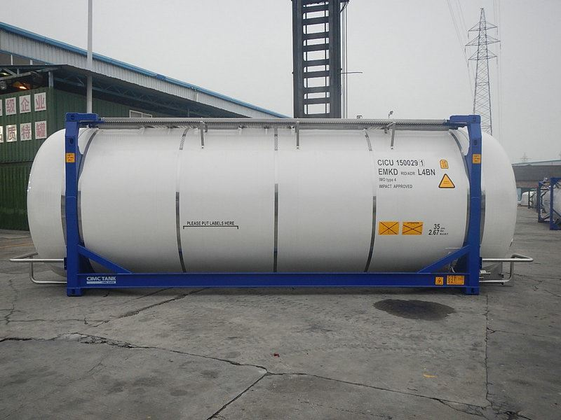 veksellad - tankbil CIMC Tankcontainer